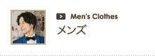 メンズ Men's Clothes